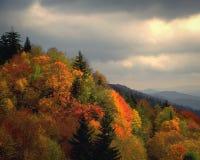 Jesień przy płomień granią obrazy stock