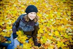 jesień radość Obraz Royalty Free