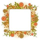 jesień rama ilustracji