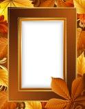 jesień rama Zdjęcia Stock