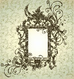 jesień ramowy liść dziękczynienie Obraz Royalty Free