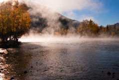 jesień sceneria Obrazy Royalty Free