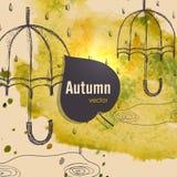 Jesień sezonu pojęcie Royalty Ilustracja