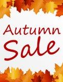jesień sprzedaż Zdjęcia Stock