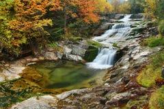 Jesień strumień Fotografia Stock