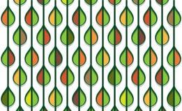Jesień stylizujący liścia wzór ilustracja wektor