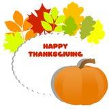 jesień tła łęku świeczki karty składu owoc liść starzy papierowi rolki dziękczynienia wierzchołka indyka warzywa Obraz Stock