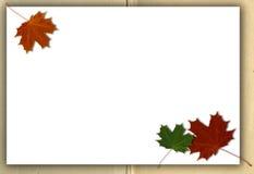 jesień tła grunge ilustraci wektor Obrazy Royalty Free
