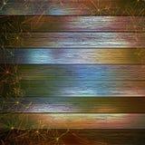 jesień tła kopii liść nad astronautyczny drewnianym EPS10 royalty ilustracja