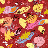 jesień tekstura Fotografia Stock