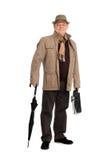 jesień ubrań elegancki mężczyzna ja target25_0_ Zdjęcia Royalty Free