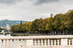 Jesień w Verona, Włochy Obraz Stock