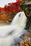 Jesień Whitewater Zdjęcia Stock