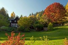 jesień wieś fotografia stock