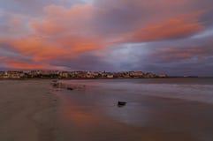 Jesień wschód słońca Obraz Royalty Free