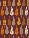 jesień wzór ilustracja wektor