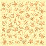Jesień wzór obraz royalty free