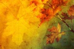 Jesień abstrakt Obraz Royalty Free