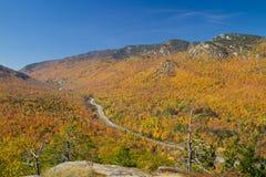 jesień autostrada Obraz Royalty Free