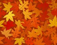 jesień bezszwowy deseniowy Obraz Royalty Free
