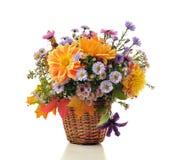 jesień bukieta kwiaty Fotografia Royalty Free