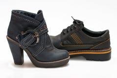 jesień buty Zdjęcie Royalty Free