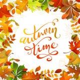Jesień czas Obrazy Royalty Free