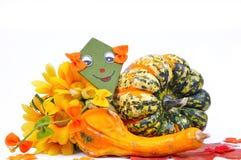 Jesień dekoracja Obrazy Royalty Free