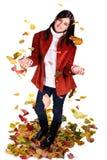jesień dziewczyna Zdjęcie Stock