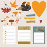 Jesień elementy Fotografia Royalty Free