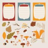 Jesień elementy Obrazy Stock