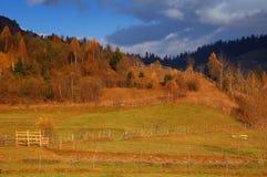 jesień gór Romania sceneria Zdjęcia Royalty Free