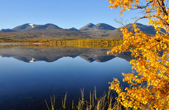 jesień góra Fotografia Stock