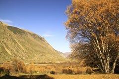 Jesień góry krajobraz Zdjęcie Stock