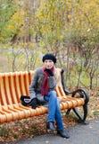 Jesień gaj Zdjęcie Stock