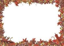 jesień granica Obrazy Royalty Free