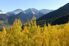Jesień Halni szczyty Obrazy Royalty Free