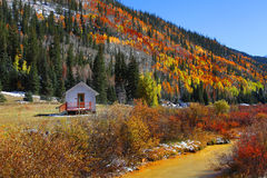jesień Juan góry San Obraz Royalty Free