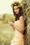 jesień kobieta Fotografia Stock