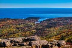 Jesień kolory od Acadia NP zdjęcia royalty free