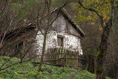 Jesień krajobraz w Cernei górach Fotografia Royalty Free
