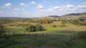 jesień krajobrazowy Romania Zdjęcie Stock