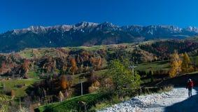 jesień krajobrazowy Romania Obrazy Royalty Free