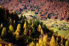 jesień krajobrazowy Romania Zdjęcia Stock