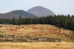 jesień krajobrazowy Romania Obraz Stock
