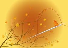 Jesień krawczyna Zdjęcie Royalty Free