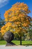 jesień kula ziemska obrazy stock