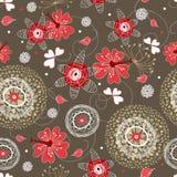 jesień kwiatu tekstura Obraz Stock