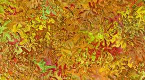 Jesień lód Zdjęcia Royalty Free
