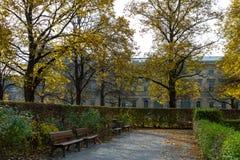 jesień malowniczy parkowy Fotografia Royalty Free